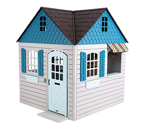LIFETIME Spielhaus Flipper 186x186 cm Multifunktionshaus Kinderspielhaus Gartenhaus Kinderhaus Indoor Outdoor