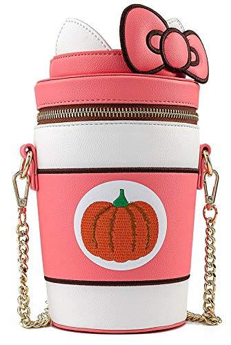 Loungefly X Sanrio Hello Kitty Pumpkin Spice Kitty Cup Crossbody Bag