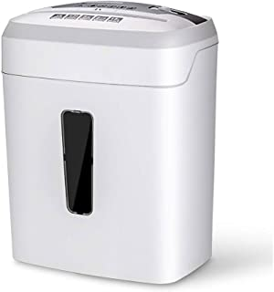ACQUIRE Office Paper Shredder - Mini Electric Small Desktop Shredded Shredder Commercial High Power Portable Waste