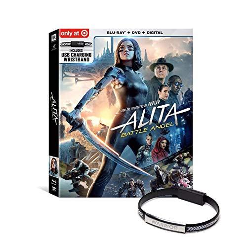Alita: Battle Angel (Target Exclusive) (Blu-Ray + DVD + Digital)