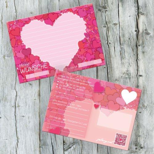 galleryy.net 52 Postkarten Hochzeit möglich - Postkarten Set Hochzeit mit 52 Karten zur Hochzeit. Hochzeitsspiele mit Karten für Gäste und Brautpaar. Gute Wünsche Karten Herz