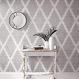 """Vlies-Tapete \""""Jewel Pearl & Silver\"""" Kollektion JmD - Fabulous 31-165-002"""