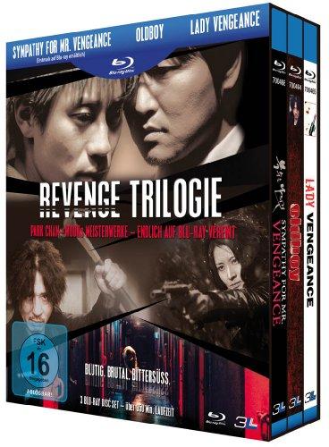 Revenge Trilogie: Sympathy for Mr. Vengeance / Oldboy / Lady Vengeance [3 Blu-rays]
