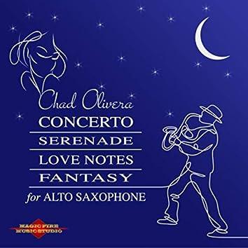 Concerto / Serenade / Love Notes / Fantasy for Alto Saxophone