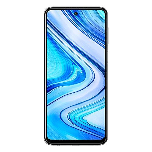 Xiaomi Redmi Note 9S - Smartphone Débloqué 4G (6.67 Pouces - 4Go RAM - 64Go Stockage, 5020mAh) - Blanc - Version Française