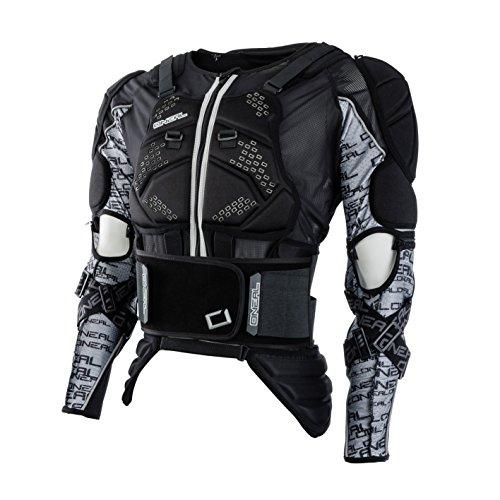 O\'NEAL   Protektoren-Jacke   Motocross Enduro   Rückenprotektor mit IPX® Schaum, elastischer Nierengurt, Umfangreiche Mesh-Belüftung   MADASS Moveo Protector Jacke   Erwachsene   Schwarz   Größe M