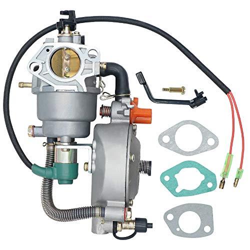 Triumilynn Dual Fuel Carburetor Generator LPG NG Conversion Kit for Honda GX390 4.5-5.5KW 188F Engine