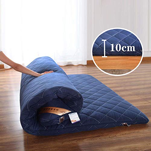 Save %12 Now! Japanese Floor Futon Mattress, Tatami Mat Portable Camping Mattress Sleeping Mat for K...