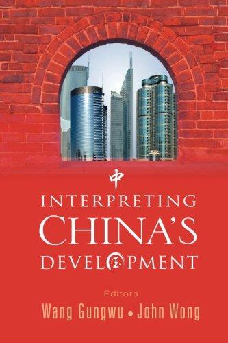 Interpreting china's developmentの詳細を見る