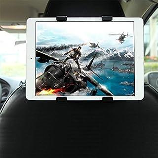 GHB Soporte para Tablet con Adaptador para Reposacabezas de Coche - Compatible con iPad, Samsung Galaxy y otras Tabletas de 7-10 Pulgadas