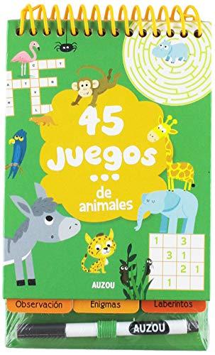 45 juegos... de animales