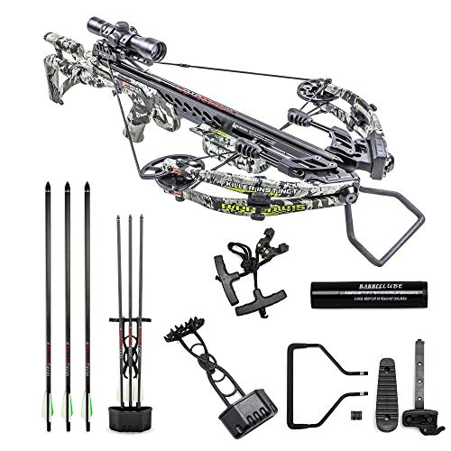 Killer Instinct Crossbows Ripper 415 Crossbow Kit, CAMO
