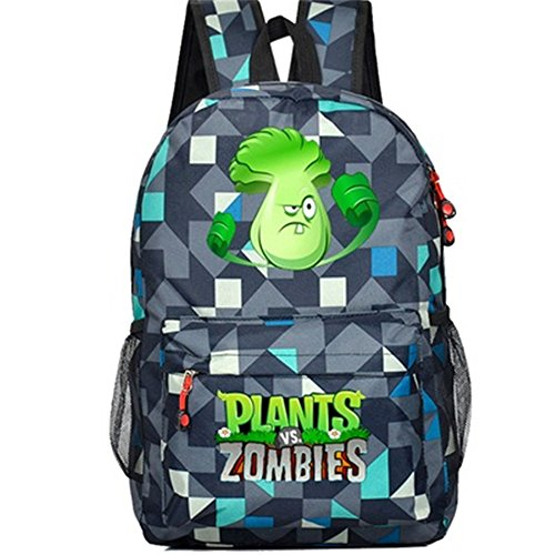 Siawasey Cute Plants Zombie Hot Game Bookbag Mochila escolar (32 estilos)