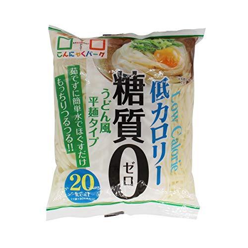 ヨコオデイリーフーズ 糖質制限カロリーオフ麺 うどんタイプ180g×20個