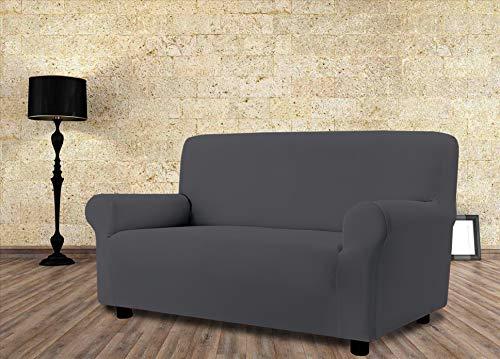Banzaii Funda Sofa Elastica – 2 Plazas Gris – Subito Fatto Made in Italy