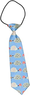 Boy's Pretied Wedding School Uniform Elastic Strap Tie Necktie Spring Hedgehog with Mushroom