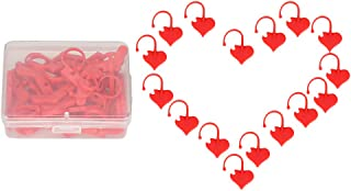 #N/A マーカーステッチ 段数マーカー ステッチマーカー 編み物マーカー 段数リング 携帯便利 約50個入り