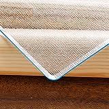 Protector de mesa de PVC esmerilado, 1,5 mm de grosor, protector de mesa transparente (90 x 160 cm, 100 x 180 cm), protector de mesa de plástico helado, para comedor, mesa, oficina, cocina