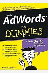 AdWords für Dummies Paperback