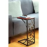 TravenPal Sofa Side Table Bird Design
