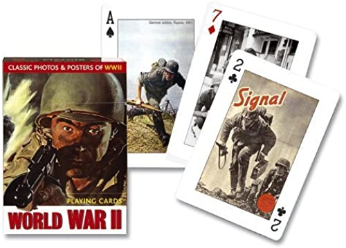 Piatnik World War II playing cards (single deck) by Piatnik