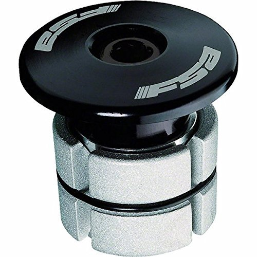 FSA Compressor 1-1/8 Black Expander Plug and Top Cap by FSA (Full Speed Ahead)