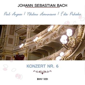 Paul Angerer / Nikolaus Harnoncourt / Felix Prohaska Play: Johann Sebastian Bach: Konzert NR. 6, Bwv 1051 (Live)
