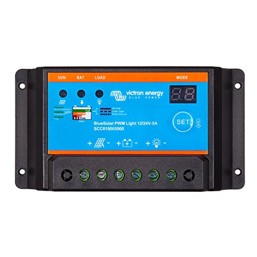 BlueSolar pWM-light charge controller 12/24 v 20 a