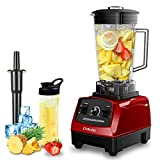CRANDDI Professional Countertop Blenders for Kitchen,1500W,70oz BPA-Free Jar,10 Speeds Commercial Blenders for Shakes and Smoothies,Easy to Clean,YL-010-R