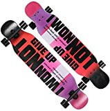 GUYUE Skateboards Longborad Skateboard 43 Zoll Komplett Drop Down...