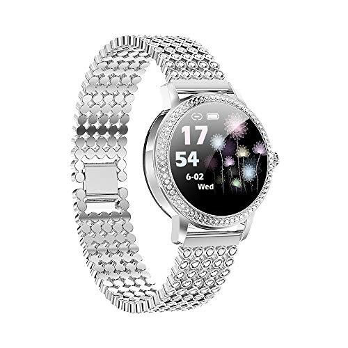 TIMAW SmartBracelet IP68 Bluetooth Smart Watch Smart Watch Smart Orologio Smart Pressione sanguigna, Ossigeno del Sangue, Nuoto, frequenza cardiaca, monitoraggio del contatore del Passo