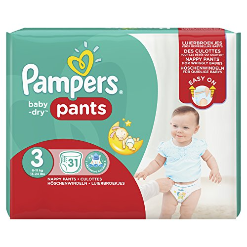 Pampers Baby Dry Pants Gr.3 Midi 6-11kg Sparpack 31 Windeln