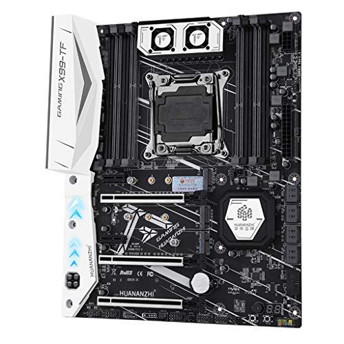 planuuik X99 moederbord met Dual M.2 NVME sleuf ondersteuning DDR3 DDR4 LGA2011-3