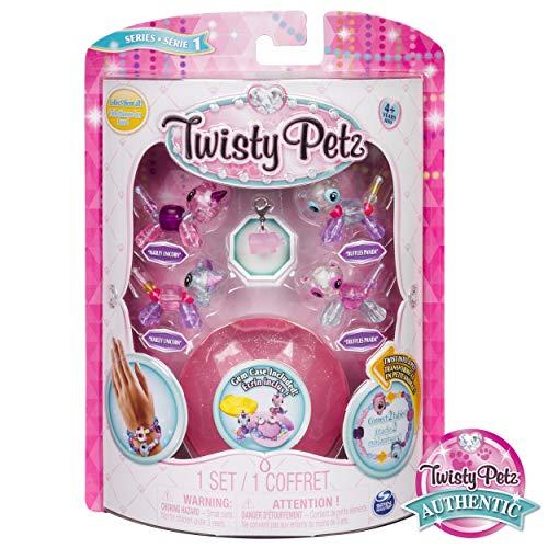 Twisty Petz - Babies 4-Pack Unicorns and Pandas Collectible Bracelet Set for Kids