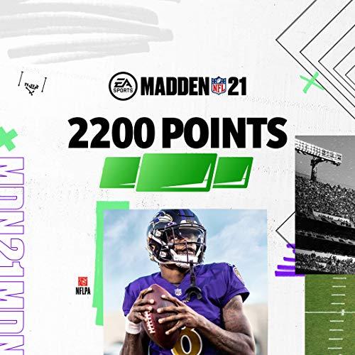Madden NFL 21: 2200 Madden Points - PS4 [Digital Code]