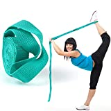 Scotamalone Stretching Strap ,Yoga Straps for Stretching,Stretch Band,Exercise Multi-Loop Rehab Strap for Physical Therapy, Pilates, Dance and Gymnastics