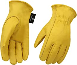 Cowhide Leather Shooting Gloves for industrial production/Riding/Driving/Gardening/Farm..
