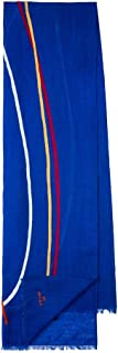 PS by Paul Smith Men's Scarf RONA, Cobalt Blue, One Size