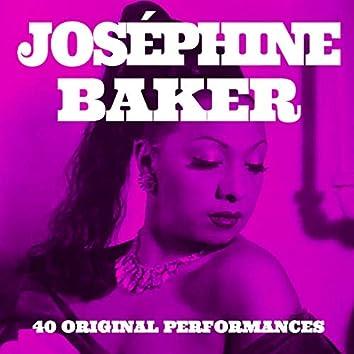Joséphine Baker. 40 Original Performances