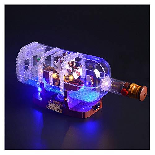 HLGQ Juego De Luces LED para (Ferrari F40) Bloques De Construcción De Modelos - Set De Iluminación LED Compatible con Lego 10248 (No Incluido El Modelo)