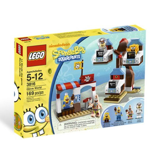 LEGO スポンジボブSpongeBob Glove World 3816