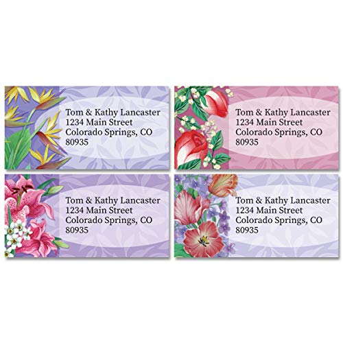 Fantasy Personalized Return Address Labels – Set of 144, Large, Self-Adhesive, Flat-Sheet Labels with Border (12 Designs), by Colorful Images