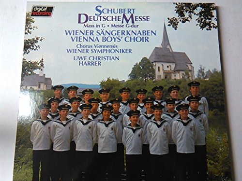SCHUBERT, Franz: Deutsche Messe in F major, D.872; Messe in G major -- PHILIPS ()-Wiener Sangerknaben, Wiener Symphoniker, Harrer U.C. (cond.)-SCHUBERT Franz (Austria)-Wiener Sangerknaben-PHILIPS-PHI 6514262-Vinyl