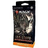 Magic the Gathering Innistrad: Juego de 3 Booster de Caza de Medianoche (versión Alemana) (Wizards of The Coast C97571000)