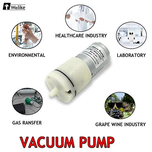 1 Stücke Motor Miniaturpumpe Mini Membran Aufblasbare Pumpe DC 3-24 V 2L / min 70Kpa Elektrische Micro Vakuum Luftpumpe MPA1003-6V
