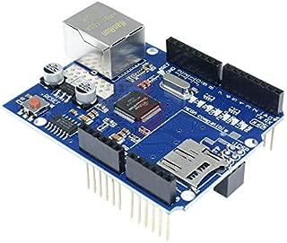 W5100 Ethernet Shield TCP IP UDP ICMP IPv4 Protocol Auto Negotiation MDI MDIX for Arduino 2009 UNO ATMega 328 1280 MEGA2560