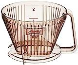 メリタ Melitta コーヒー ドリッパー 2~4杯用 メジャースプーン付 アロマフィルターシリーズ AF-M 1×2