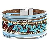 HONGYAN Beads Chakra Bracelet Jewelry Handmade Multi Color Stone Beads Bracelets Brazaletes Regalos Creativos