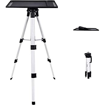Adjustable Projector Stand Telescopic 21Cm-30Cm Tripod Portable Multifunctional Tripod Stand ZXGHS Universal Projector Floor Stand