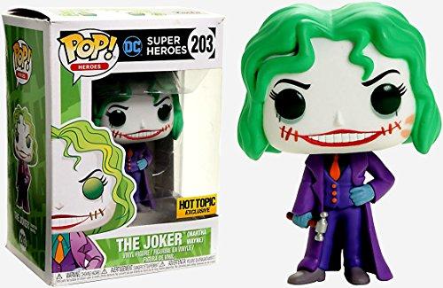 Funko- DC Super Heroes-The Joker (Martha Wayne) Figurina, Multicolor, 14402
